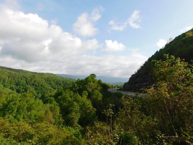 Sam's Gap Landscape