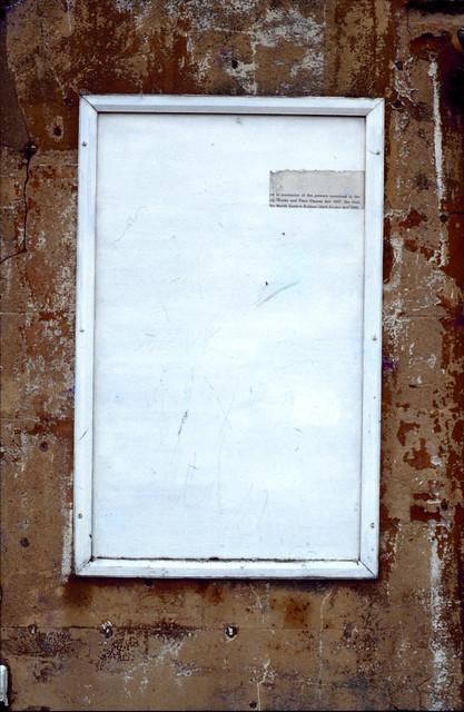 Docks notice, Hull 70shull070