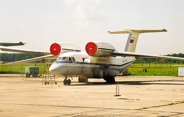 (Rare) RA-72991 Antonov AN-72 Russian Air Force