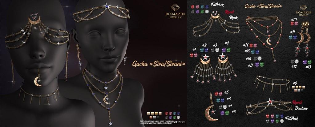 Romazin – Gacha <Sira/Sirani> – Lootbox