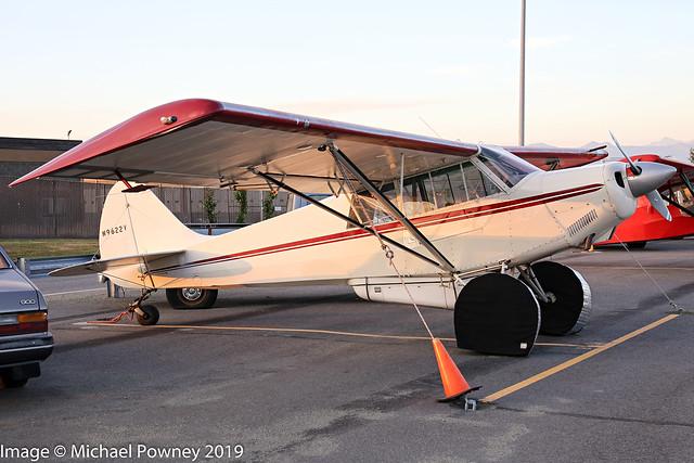 N9622V - 1990 build Christen A-1 Husky, parked at Lake Hood