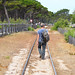 Walking the tracks, Corsica