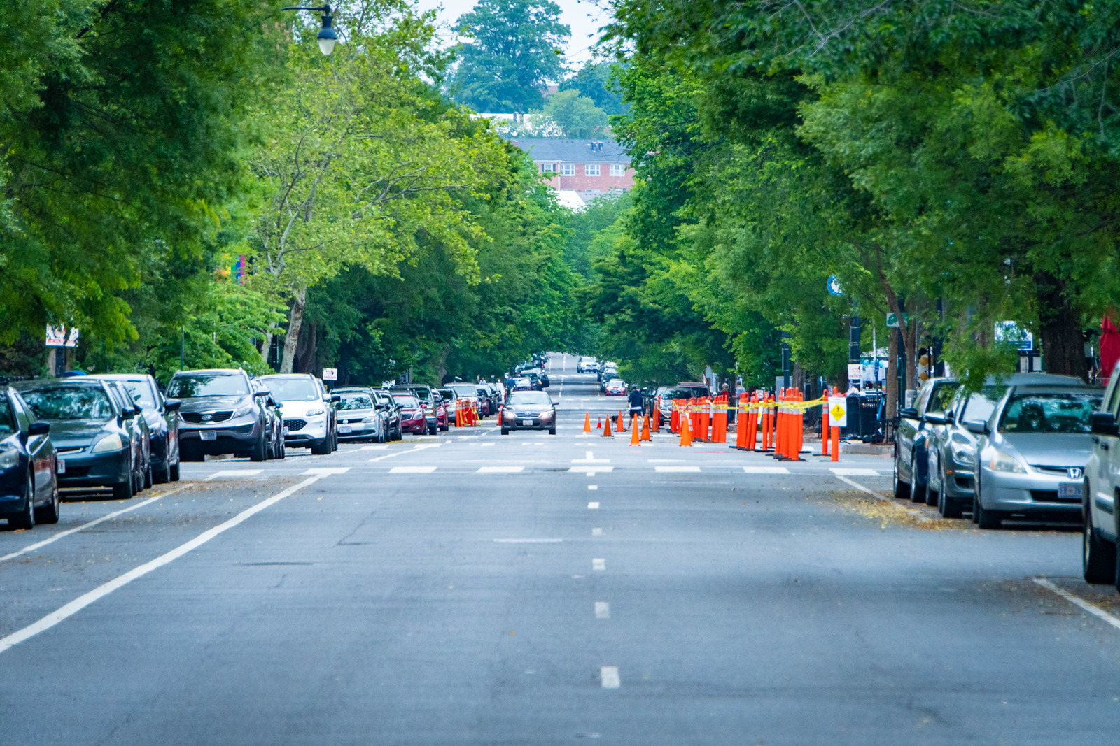 Thanks for publishing my photo of one of DC's newest extended sidewalks, in Morning Roundup | DCist