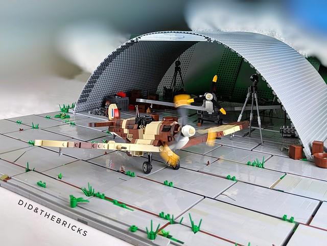 Spitfire Hangar Diorama