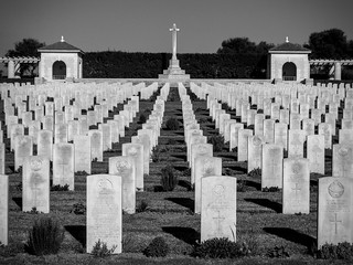 Medjez el bab Commonwealth WWII  Cemetary