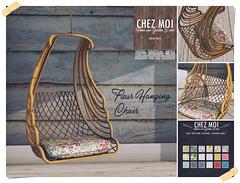 Fleur Hanging Chair CHEZ MOI