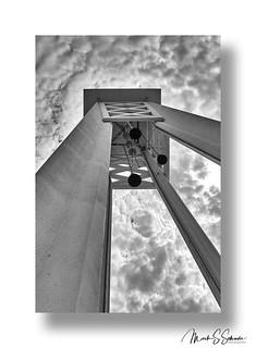 Logan University Carillon B&W