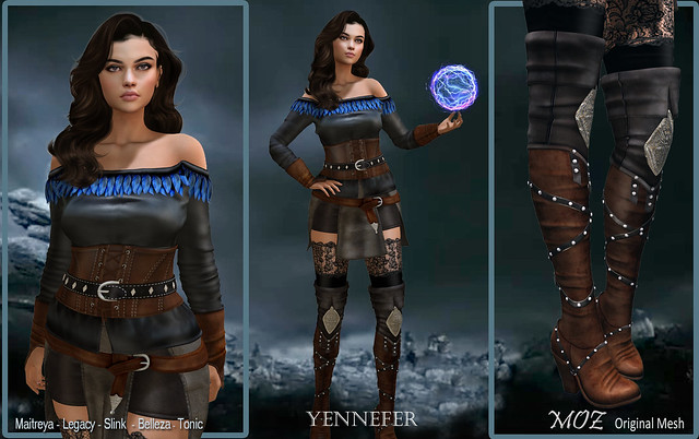MOZ Yennefer Complete Outfit