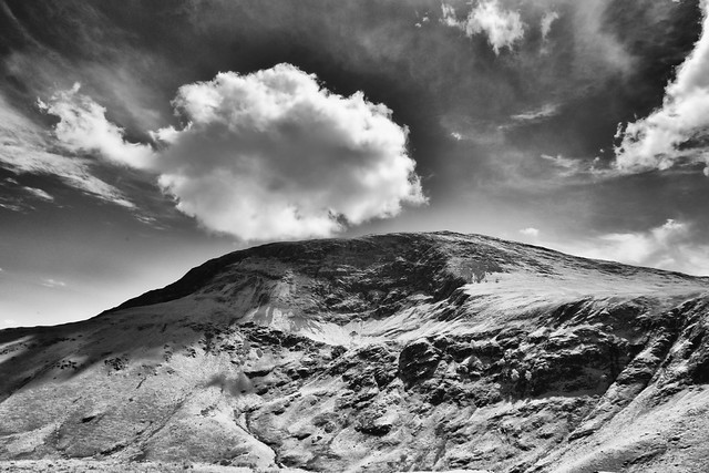 Robinson Crags from Knott Rigg