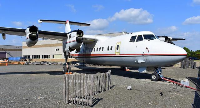 de Havilland Canada DHC-7-102 c/n 070 registration C-GGUL preserved in Veen, Netherlands