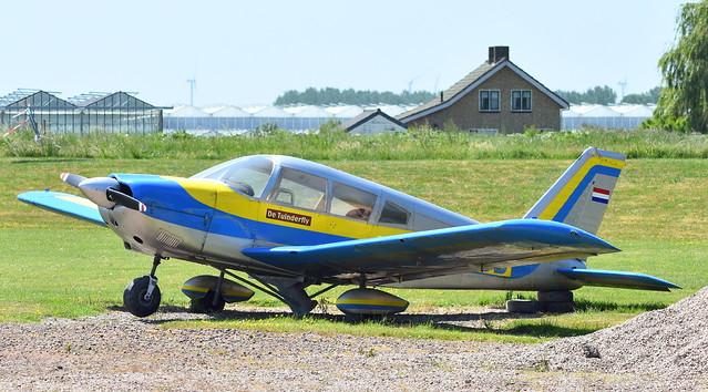 Piper Pa.28 Cherokee 235 c/n 28-7110004 registration PH-PJB preserved in de Lier, Netherlands