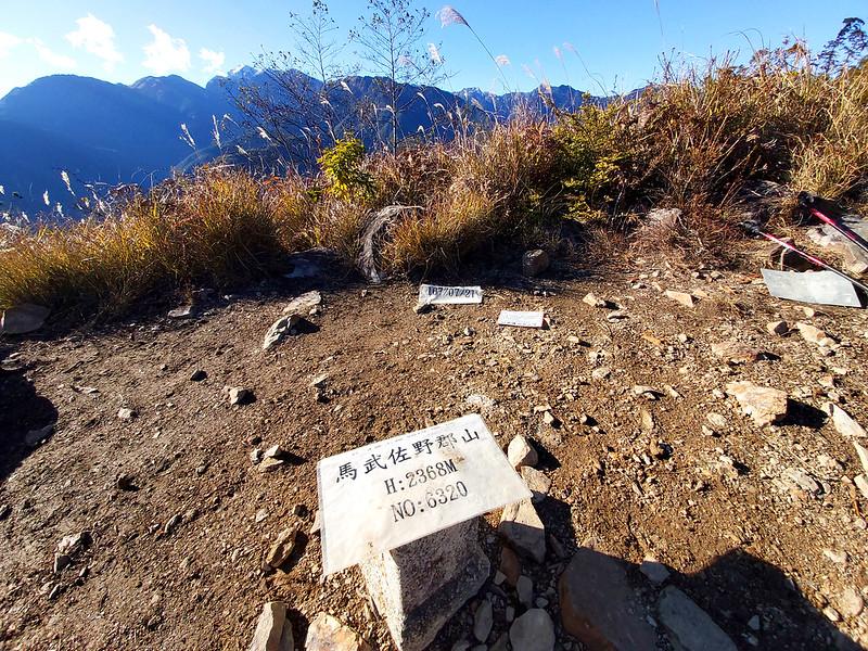 ROMA: Holy Ridgeline 聖稜線 from the summit of Mt. Mawuzuye 馬武佐野郡山 (2,368 m / 7,769 ft)
