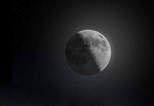 Luna en HDR / Moon in HDR