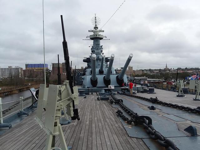 Ship's Deck.