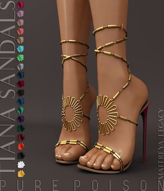 Pure Poison – Tiana Sandals @Uber