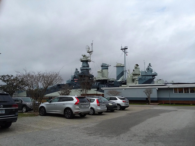 Battleship Parking Lot.