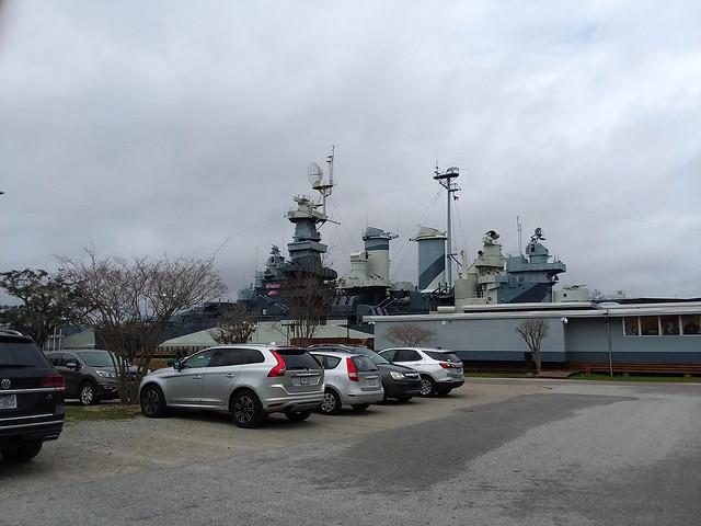 Battleship Parking Lot.
