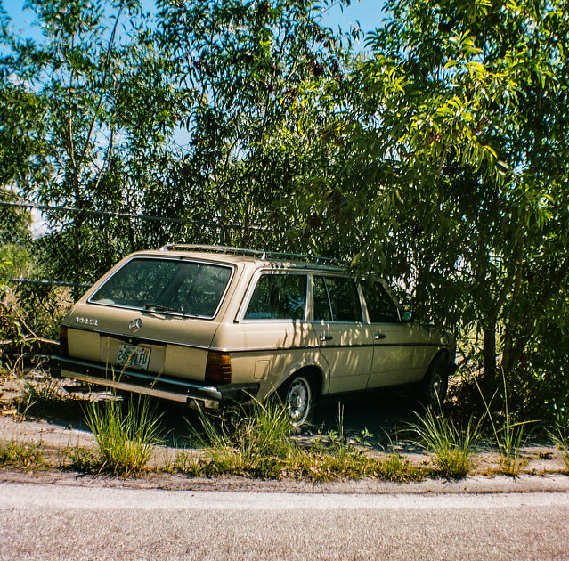 Bad parking Job.