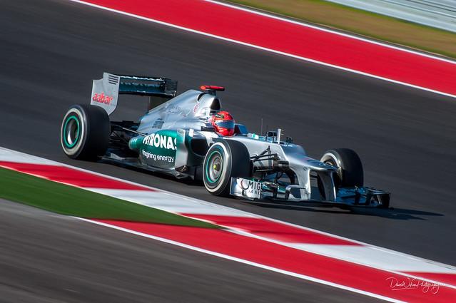 Michael Schumacher, 2012 USGP