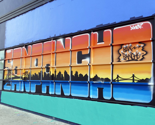 corona times: went out of the house for exercise, and well, of course, i took my camera; new mural 5-20*