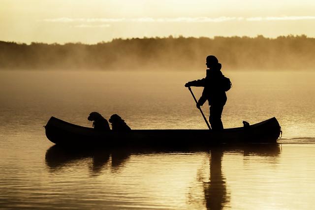 Sunrise Canoeing