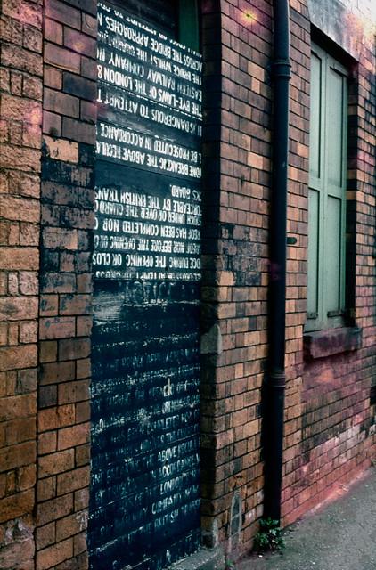 Railway warning, Hull 80hull116