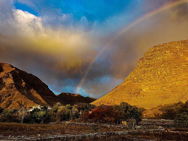 Gomera Valle gran rey