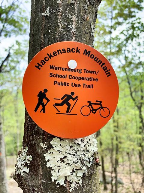 Hackensack Trail Marker