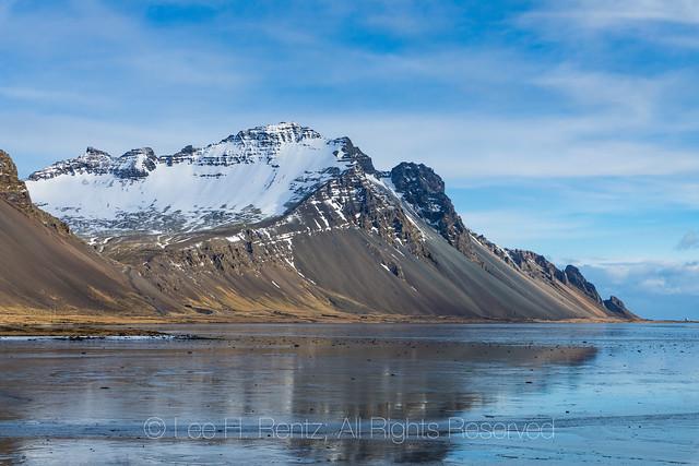 Northeast of Höfn in Iceland