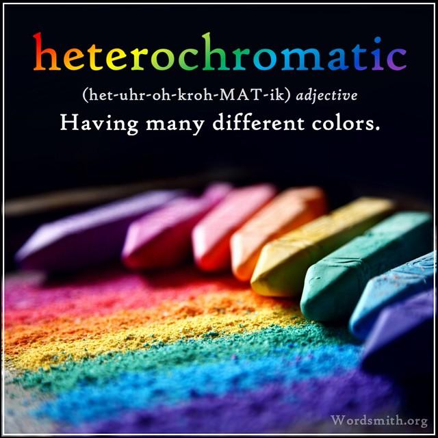 AWAD - heterochromatic