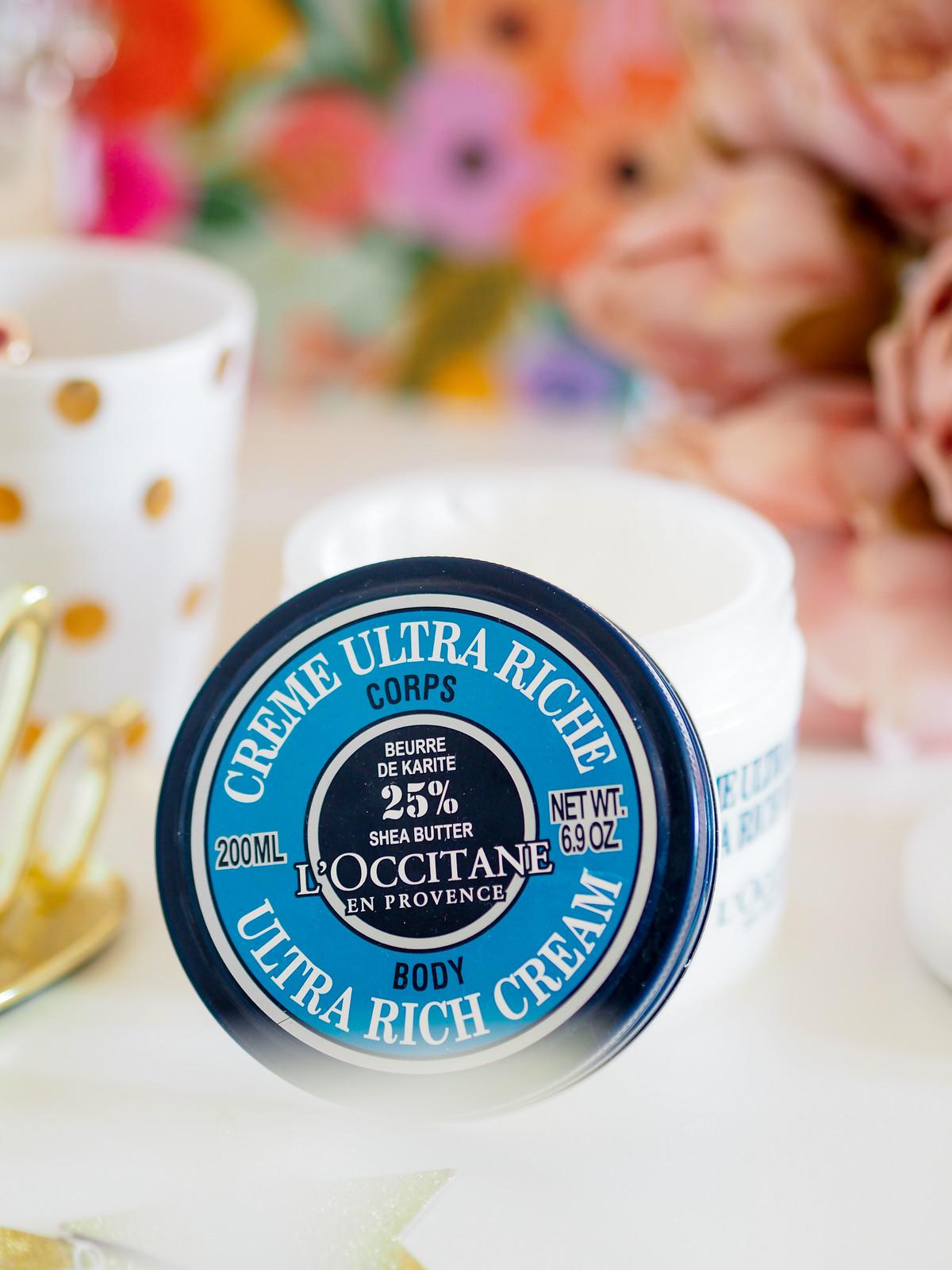 L'occitane 25% Shea cream body