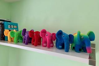 Elephpants on a shelf