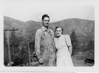 Allbert and Alice as a young couple