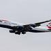 London Heathrow Airport: British Airways (BA / BAW) | Boeing 747-436 B744 | G-BYGA | MSN 28855