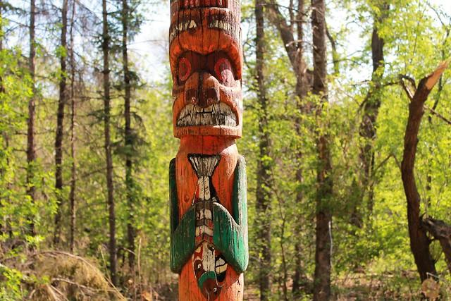 Aboriginal Canada fishing spot.\Manitoba\
