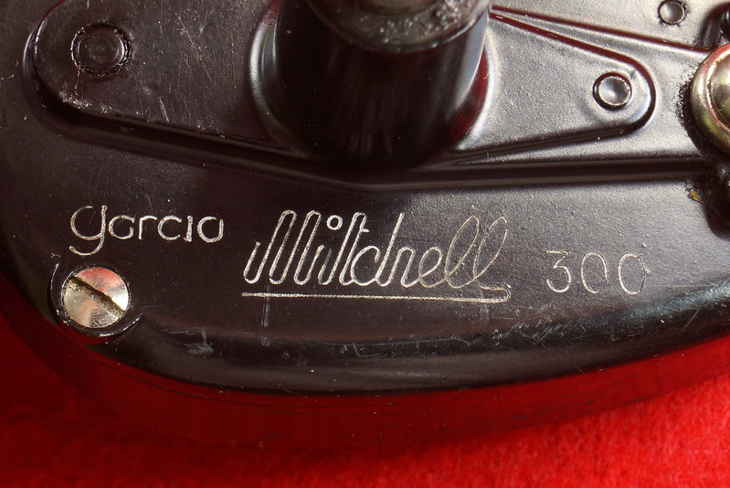 RD17658 Vintage GARCIA MITCHELL 300 Fishing Reel Made in France DSC05721