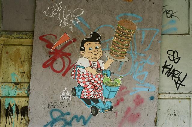 Pendleton Graffiti