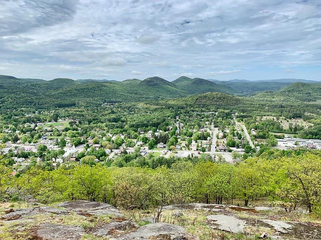 Overlooking Warrensburg