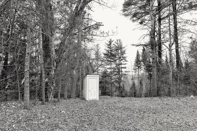 Country Church Outhouse, Muskoka, Ontario
