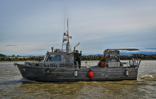 SEA MAX, Fishing Vessel - Steveston Harbour
