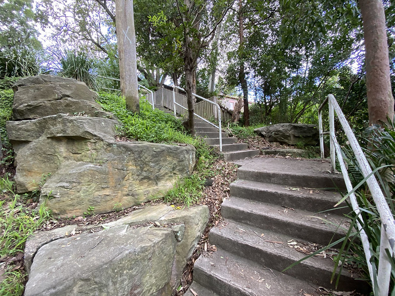 Steps to Berry Road