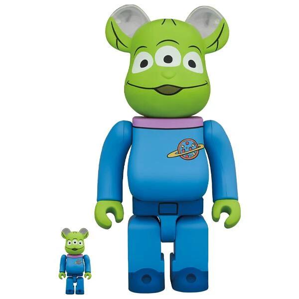 外星人 × 潮流熊! MEDICOM TOY BE@RBRICK 系列《玩具總動員》三眼怪(Alien)100% & 400% 套裝組、1000% 同步登場!