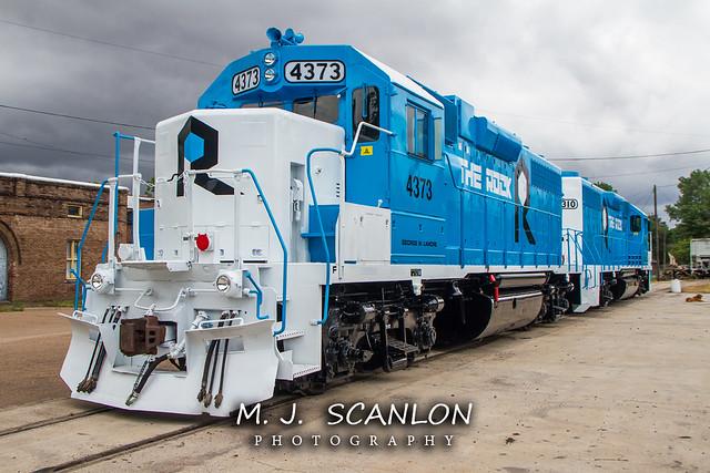 RI 4373 | EMD GP38 | Rock Island Rail