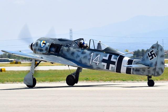 Luftwaffe Focke Wulf Fw 190 A8 White 14 N190RF