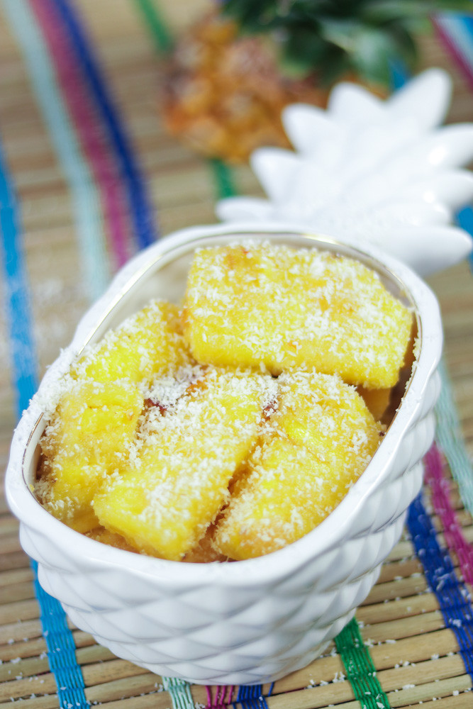 Thai Fried Pineapple