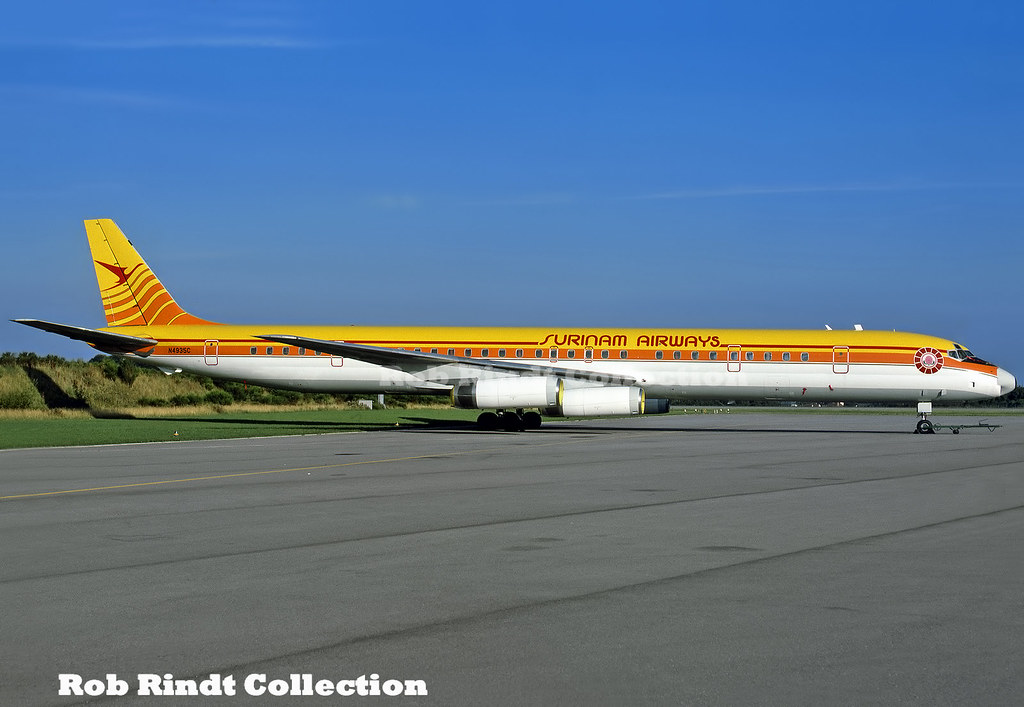 Surinam Airways DC-8-63 N4935C