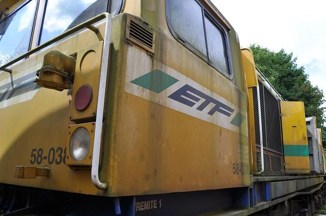 58038 (58-038) at Alizay Depot on 19 08 2014
