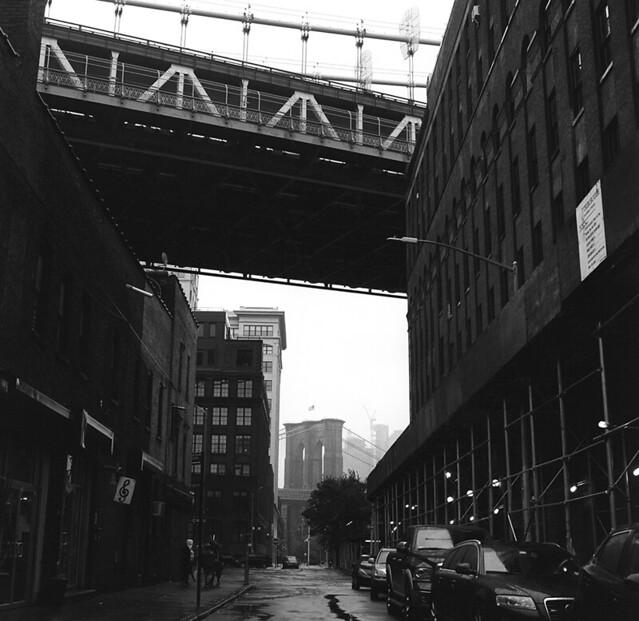 Down under them bridges