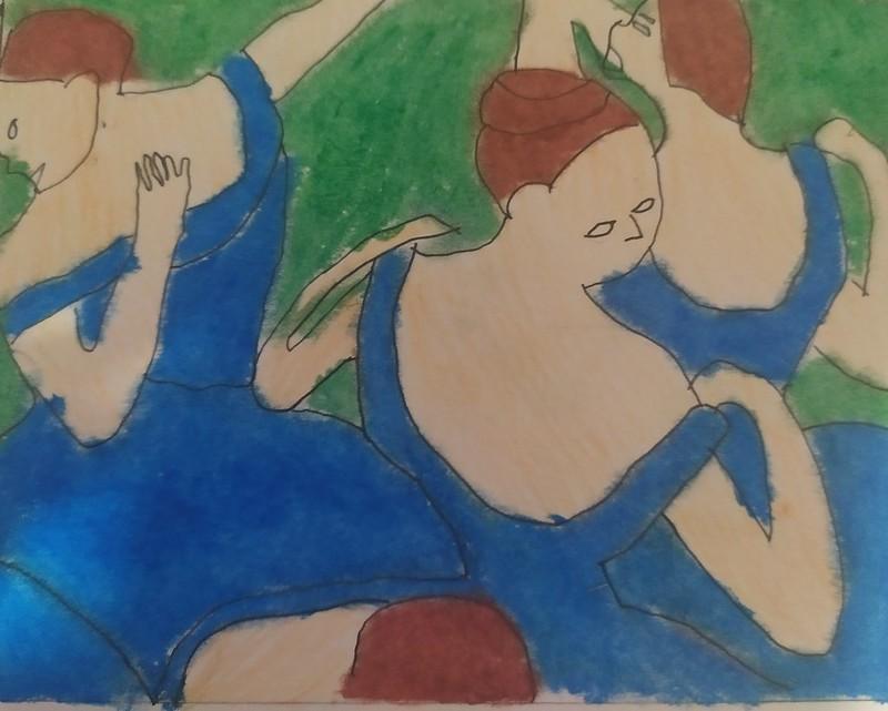Raul cabrera( Bailarinas entre bastidores )