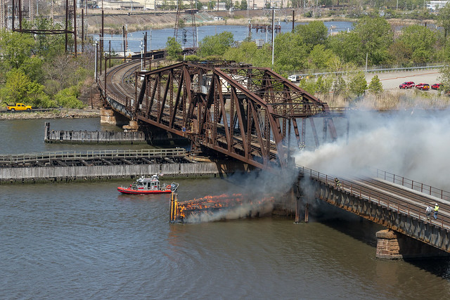 Point No Point Bridge Fire